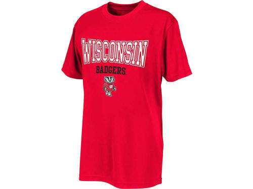 Wisconsin Badgers Colosseum NCAA Youth Scoreboard T-Shirt