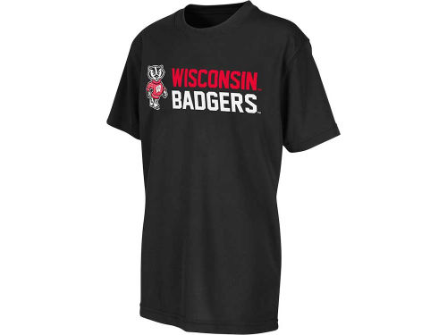 Wisconsin Badgers Colosseum NCAA Youth Sonic T-Shirt