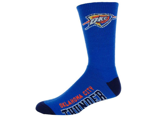 Oklahoma City Thunder NCAA Deuce Sock