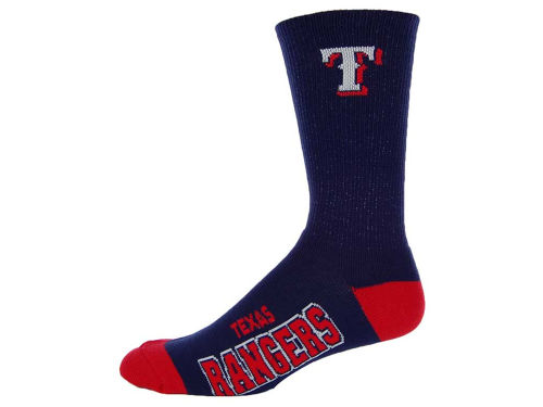 Texas Rangers For Bare Feet Deuce Crew 504 Socks