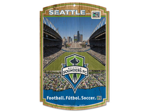 Seattle Sounders FC Wincraft 11x17 Wood Sign