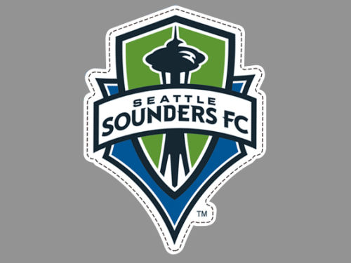 Seattle Sounders FC Wincraft Die Cut Magnet