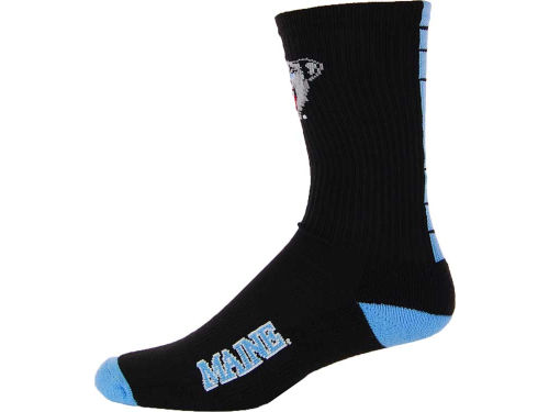Maine Black Bears 769 Half-Cushion Crew Sock