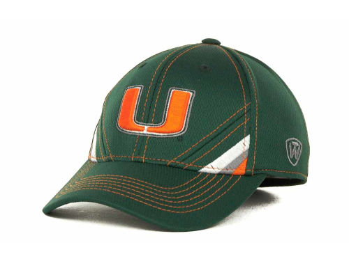 Miami Hurricanes Top of the World NCAA Pace TC Cap Hats