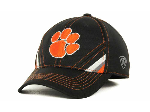 Clemson Tigers Top of the World NCAA Pace Black Cap Hats