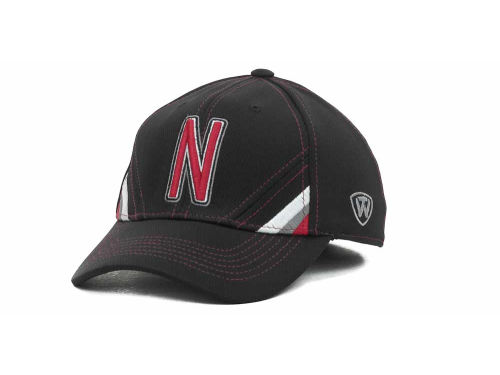 Nebraska Cornhuskers Top of the World NCAA Pace Black Cap Hats