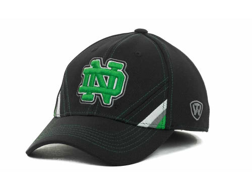 Notre Dame Fighting Irish Top of the World NCAA Pace Black Cap Hats