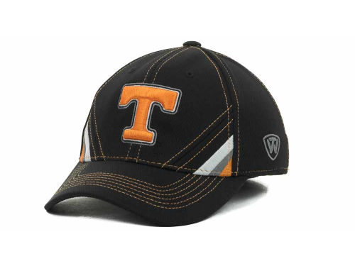 Tennessee Volunteers Top of the World NCAA Pace Black Cap Hats