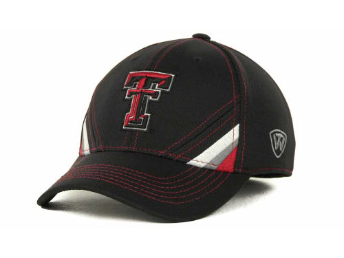 Texas Tech Red Raiders Top of the World NCAA Pace Black Cap Hats