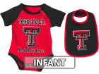 Texas Tech Red Raiders Colosseum NCAA Infant Rocker Bib/Bodysuit Set Infant Apparel