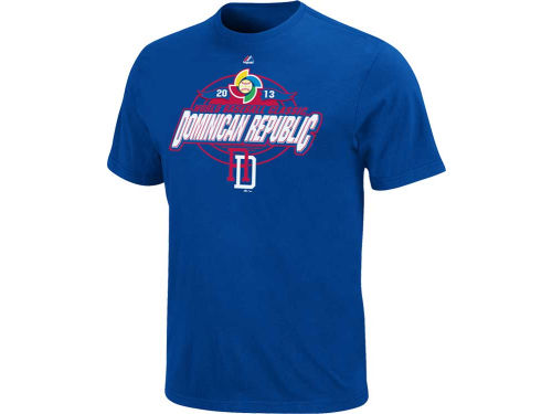 Dominican Republic Majestic MLB World Baseball Classic Clean Up Hitter T-Shirt