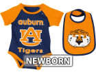Auburn Tigers Colosseum NCAA Newborn Rocker Bib/Bodysuit Set Infant Apparel
