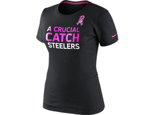 Pittsburgh Steelers Nike NFL Womens BCA Attitude T-Shirt
