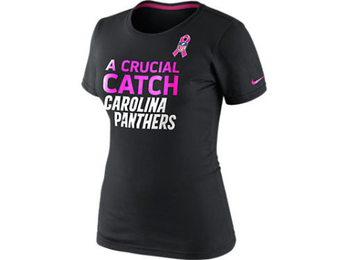 Carolina Panthers Nike NFL Womens BCA Attitude T-Shirt