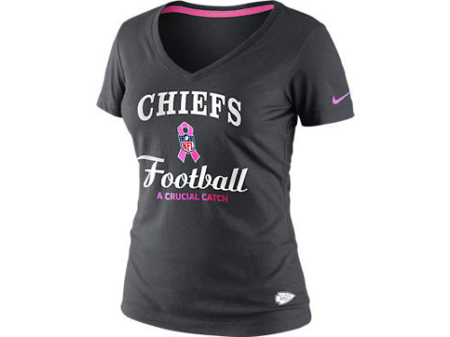 Kansas City Chiefs Nike NFL Womens BCA Team T-Shirt