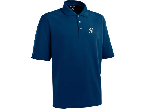New York Yankees Antigua MLB Whisper Xtra-Lite Polo