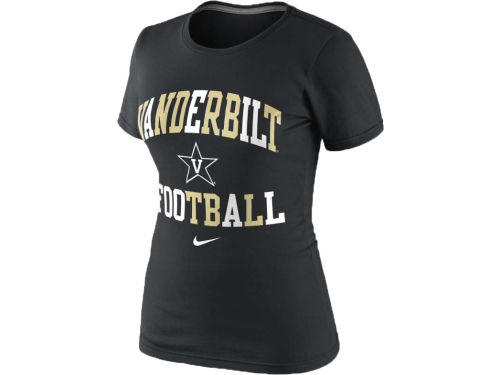 Vanderbilt Commodores Nike NCAA Womens Gridiron T-Shirt