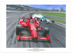 Dario Franchitti Dario Franchitti 18x24 Swintal Print Collectibles
