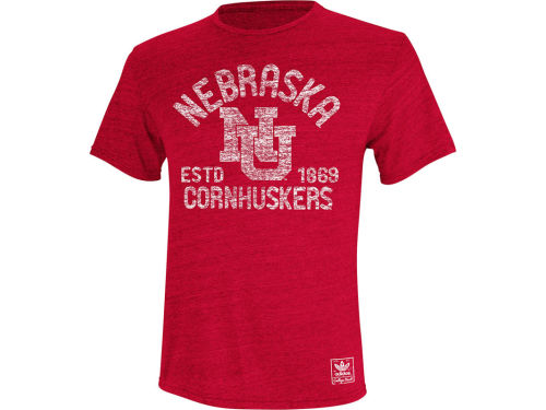 Nebraska Cornhuskers adidas NCAA Established Mascot T-Shirt
