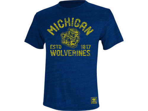 Michigan Wolverines adidas NCAA Established Mascot T-Shirt