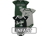 Outerstuff NFL Infant Girls 3pc Foldover Neck Creeper Set 2013 Infant Apparel