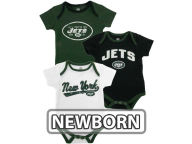 Outerstuff NFL Newborn 3pc Foldover Neck Creeper Set 2013 Infant Apparel