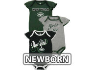 Outerstuff NFL Newborn Girls 3pc Foldover Neck Creeper Set 2013 Infant Apparel