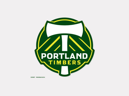 Portland Timbers Wincraft 4x4 Die Cut Decal Color