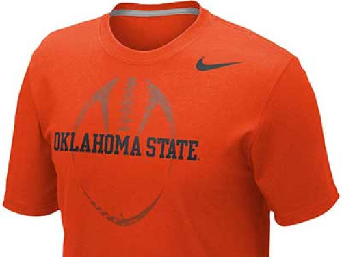 Oklahoma State Cowboys Nike NCAA Football Team Issue T-Shirt