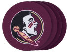 Florida State Seminoles 4pk Neoprene Coaster Set Kitchen & Bar