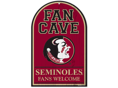 Florida State Seminoles Wincraft 11x17 Wood Sign