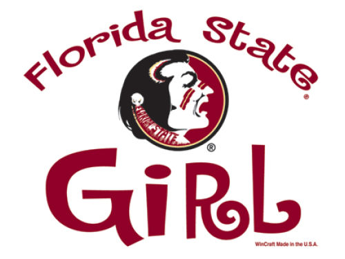 Florida State Seminoles Wincraft 3x4 Ultra Decal