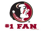 Florida State Seminoles Wincraft 3x4 Ultra Decal Bumper Stickers & Decals
