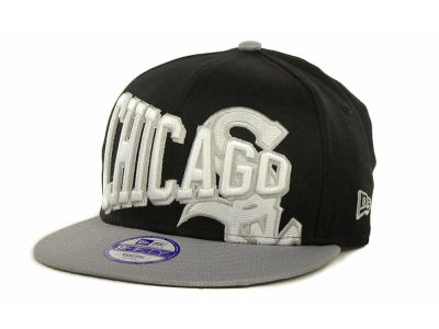 Chicago White Sox MLB Youth Text Slant 9FIFTY Cap Hats