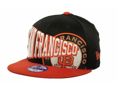 San Francisco Giants MLB Youth Text Slant 9FIFTY Cap Hats