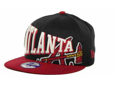 Atlanta Braves MLB Youth Text Slant 9FIFTY Cap Hats