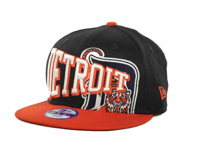 Detroit Tigers MLB Youth Text Slant 9FIFTY Cap Hats