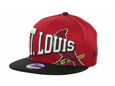 St. Louis Cardinals MLB Youth Text Slant 9FIFTY Cap Hats