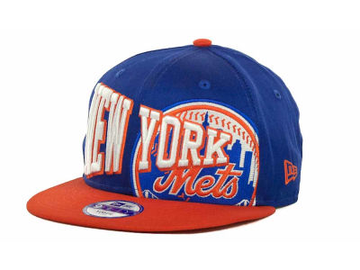 New York Mets MLB Youth Text Slant 9FIFTY Cap Hats