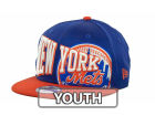 New York Mets New Era MLB Youth Text Slant 9FIFTY Cap Adjustable Hats