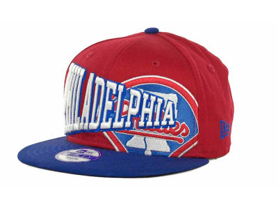 Philadelphia Phillies MLB Youth Text Slant 9FIFTY Cap Hats