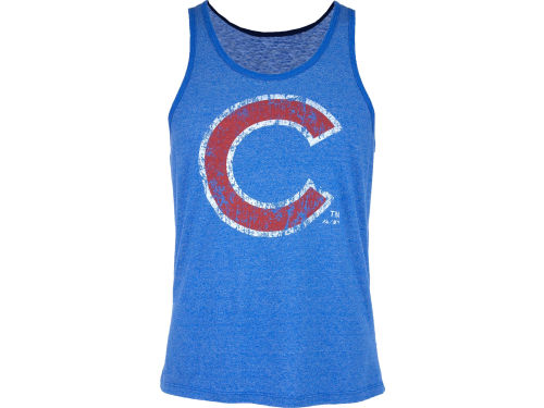Chicago Cubs MLB Mens Fashion Tank