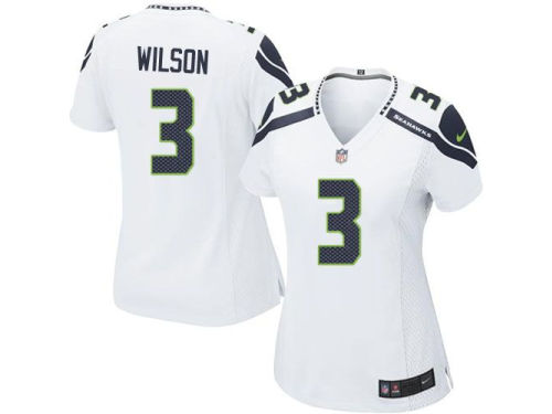 Seattle Seahawks Russell Wilson Nike NFL Women's Game Jersey