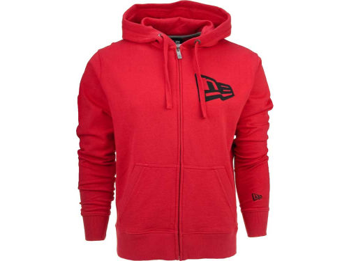New Era Branded Men's Flag Zip Hoodie
