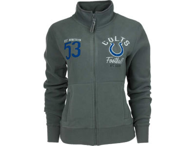 Indianapolis Colts NFL Womens Polar Fleece Full Zip Track Jacket