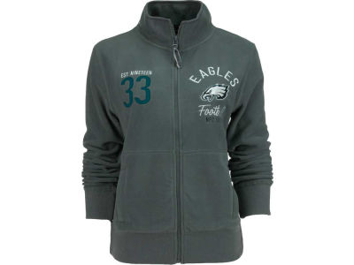 Philadelphia Eagles NFL Womens Polar Fleece Full Zip Track Jacket