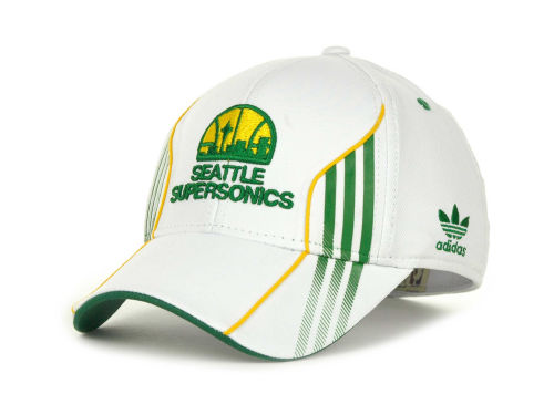 Seattle SuperSonics adidas NBA Center Court 2012 Cap Hats