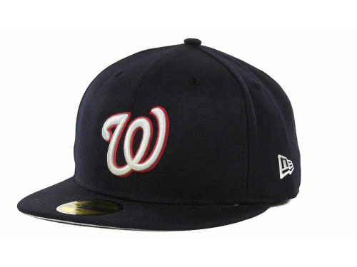 Washington Nationals New Era MLB Cooperstown 59FIFTY Hats