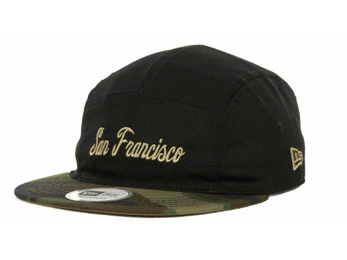 San Francisco Giants New Era MLB 5 Star Panel Adjustable Cap Hats