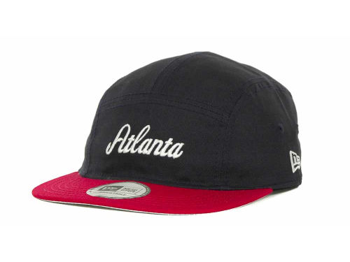 Atlanta Braves New Era MLB 5 Star Panel Adjustable Cap Hats
